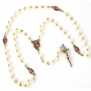 Pearled rosary with images (20 diam) s6