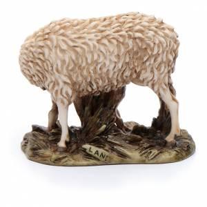 Pecora e agnellino 15 cm resina Moranduzzo s3