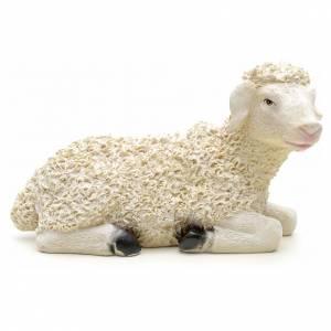 Animali presepe: Pecora in resina 29x12x17 cm