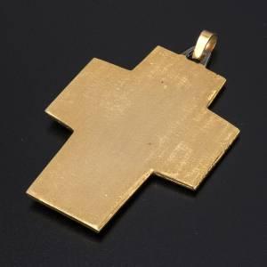 Pectoral cross in brass, Last Supper s4