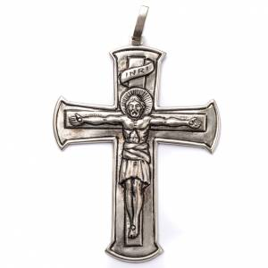Bishop's items: Pectoral Cross made of silver 800, Crucifix