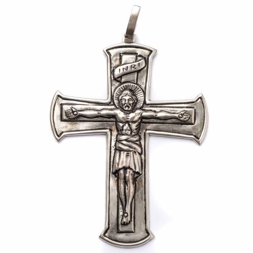 Pectoral Cross made of silver 800, Crucifix s1