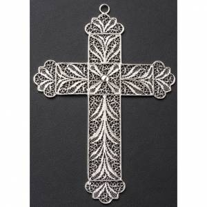 Pectoral Cross made of silver filigree s3