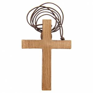 Wooden cross pendants: Pectoral Crucifix in wood Bethlehem
