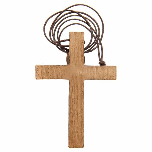 Pectoral Crucifix in wood Bethlehem s2