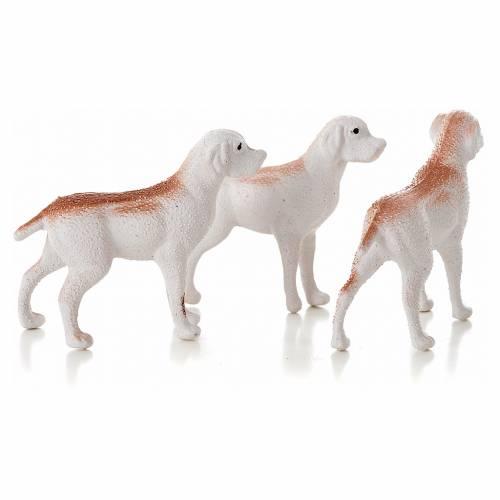 Perros 3 pz. 5 cm. de altura s2
