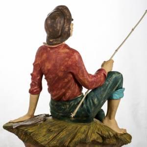 Statue per presepi: Pescatore 125 cm presepe Fontanini