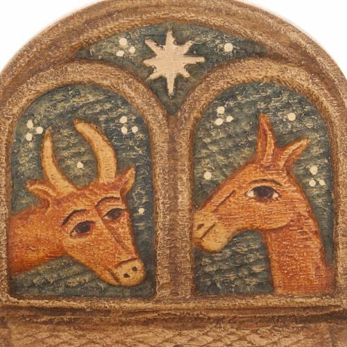 Pesebre de Otoño de madera pintada s8