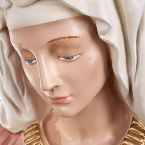Pietà of Michelangelo, fiberglass statue, 100 cm s14