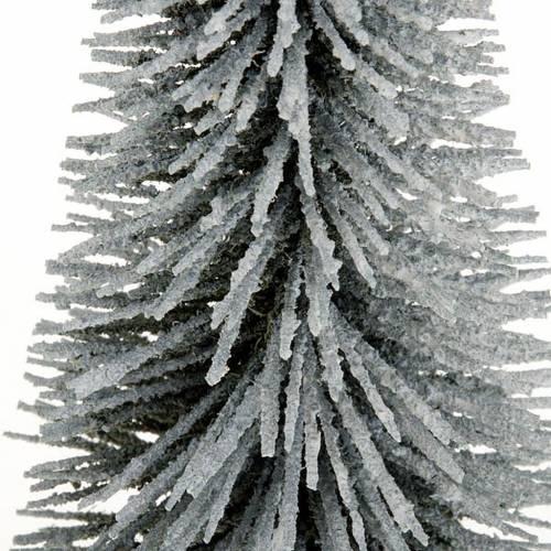 pin avec neige pour crèche diverses mesures s2