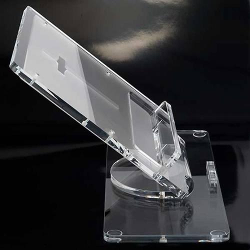 Plexiglass book stand with cross 9