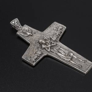 Pope Francesco silver pectoral cross s2