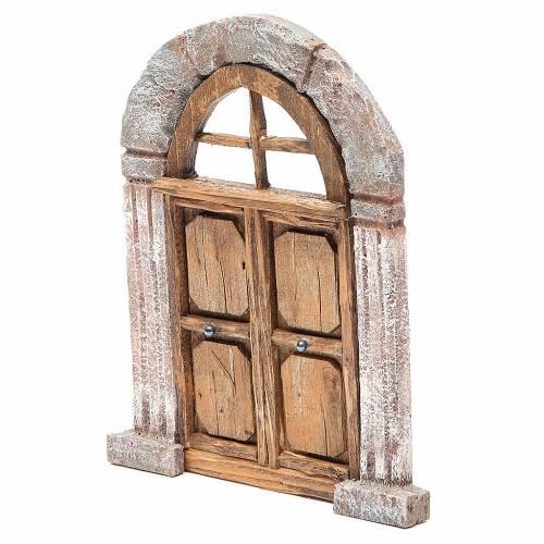 Porta arco e colonne per presepe 22X14 cm s2