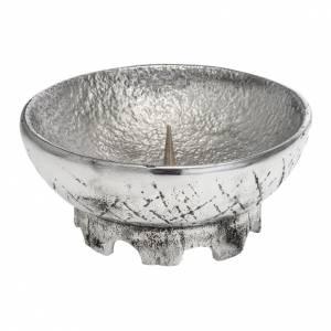 Candelieri metallo: Portacandela da mensa Molina alluminio fuso