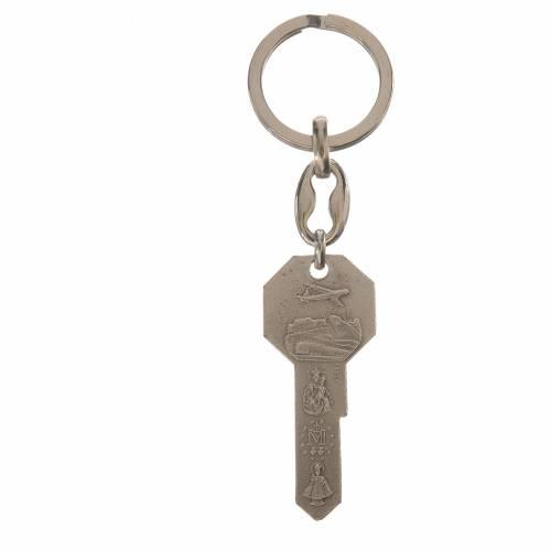 Portachiavi metallo forma di chiave s2