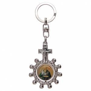 Porte-clés: Porte-clé tournant, dizainier image St Benoit