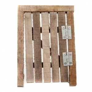 porte en bois avec chambranle pour crèche s2