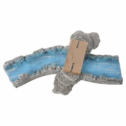 Portions de fleuve en plâtre 4 pcs assorties s2