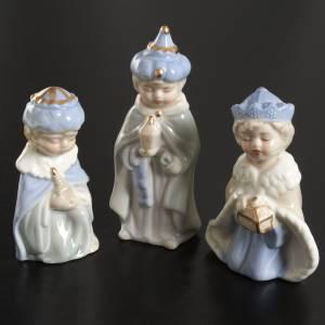 Presepe completo ceramica 11 statuine 10 cm s3