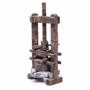 Presse pour aïl 24 cm crèche napolitaine s2