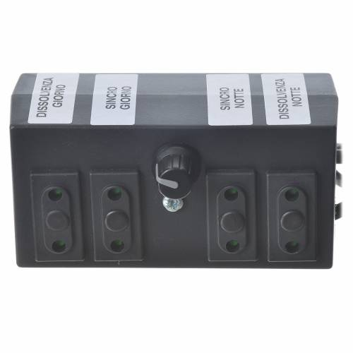 Programmateur pour éclairage crèche 600W 2+2 phases s2
