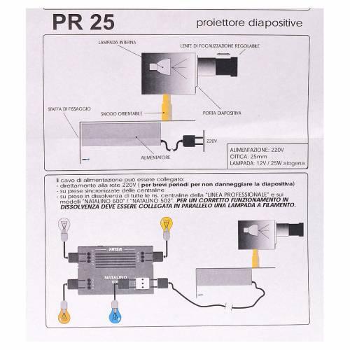 Proiettore diam 25 mm presepe s5