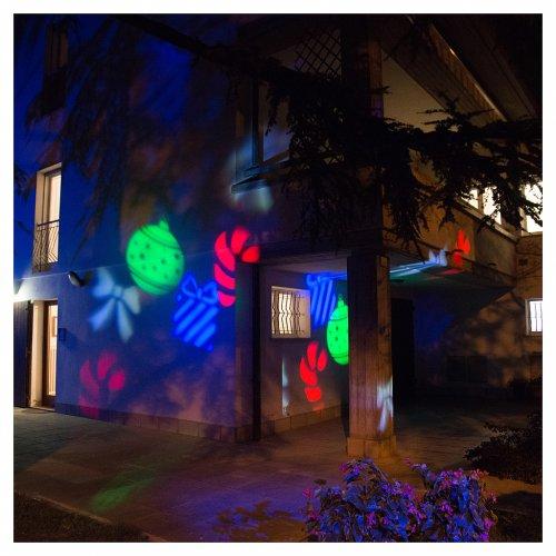 Proiettore led Christmas interno esterno s5