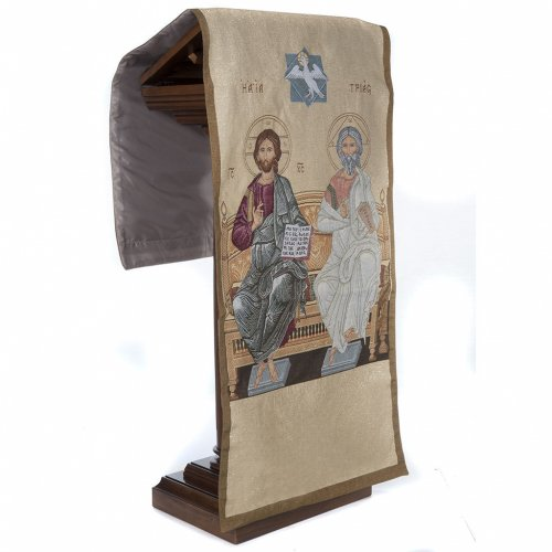 Pulpit cover the Holy Trinity, gold background s6