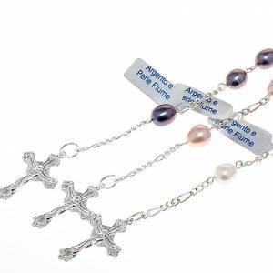 Pulseras de plata: Pulsera decena plata 800 y perlas de río
