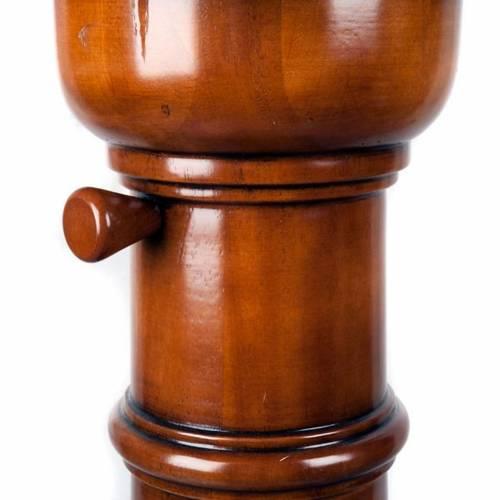 Pupitre à colonne mono 70x45 cm s2
