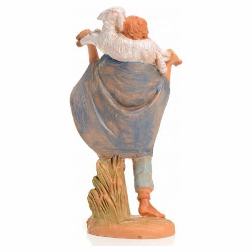 Ragazzo con agnello 9,5 cm Fontanini s2