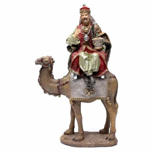 Re magi resina 30 cm e cammello s2