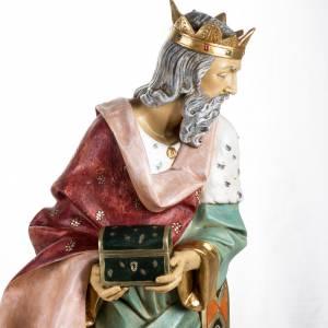 Statue per presepi: Re Magio bianco 125 cm Fontanini