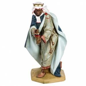 Statue per presepi: Re Magio moro 65 cm Fontanini resina