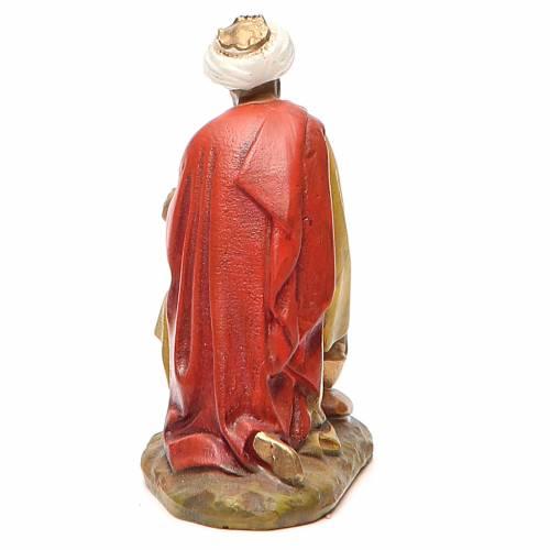 Roi Mage Gaspard résine peinte 10 cm gamme M. Landi s2
