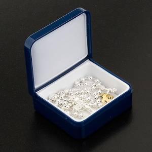 Rosario argento 925 tondo 4mm s2