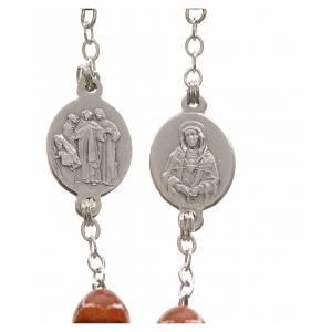 Rosario devocional marrón Virgen de los Dolores s3