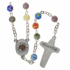 Rosari portarosari Medjugorje: Rosario Medjugorje vetro stile murrina