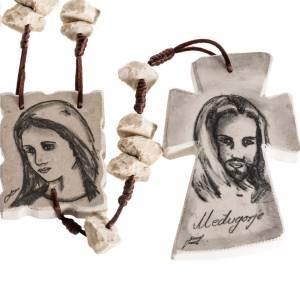 Medjugorje Rosenkränze und Etuis: Rosenkranz Capoletto Maria und Jesus Medjugorje