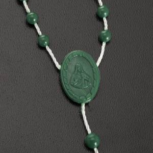 preiswerte Rosenkränze: Rosenkranz grün Nylon