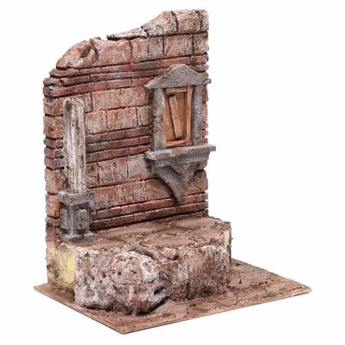 Rovine dell'ingresso del tempio 30x25x20 cm s3