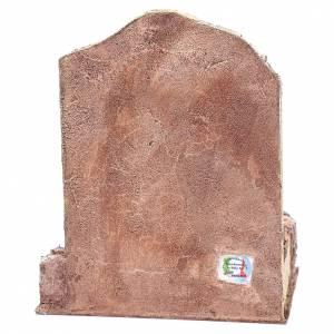 Rovine tempio con nicchia 30x25x20 cm s4
