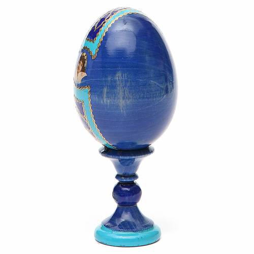 Russian Egg Our Lady of Lourdes Fabergè style 13cm s3