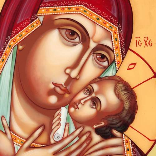 Russian icon, Mother of God of Korsun s3