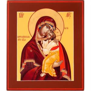 Russian icon, Mother of God of Yaroslavl s1