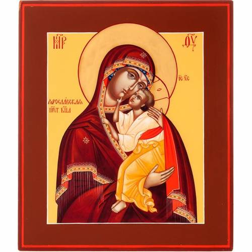 Russian icon, Mother of God of Yaroslavl 1