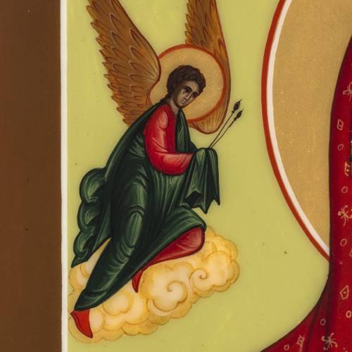 Russian icon, Our Lady of the Passion 27x22cm s5