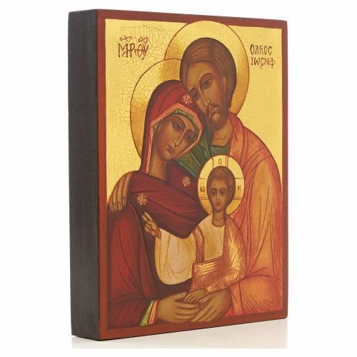 Icona russa Sacra Famiglia Russia s2