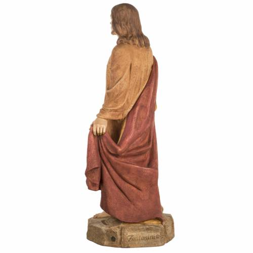 Sacré Coeur de Jésus 100 cm résine Fontanin s7