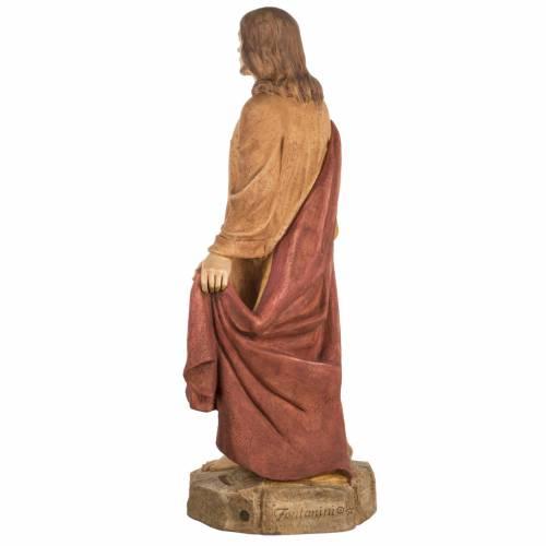 Sacro Cuore di Gesù 100 cm resina Fontanini s7
